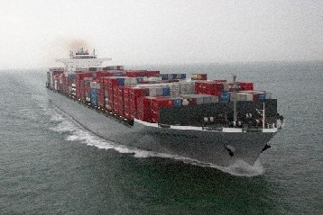 Loaded Containership