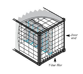 Reefer container configuration